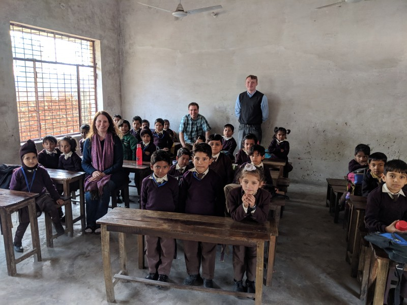 Visiting a Christian school in South Asia