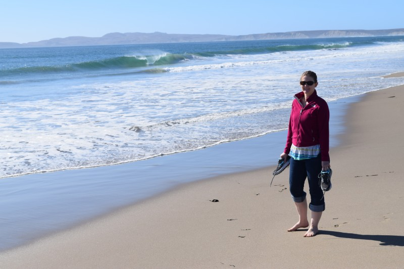 Hiking in point reyes