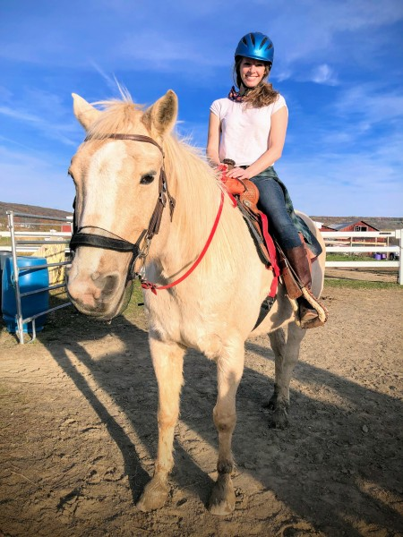 Riding horses is a great way to spend socially-distant time with friends.