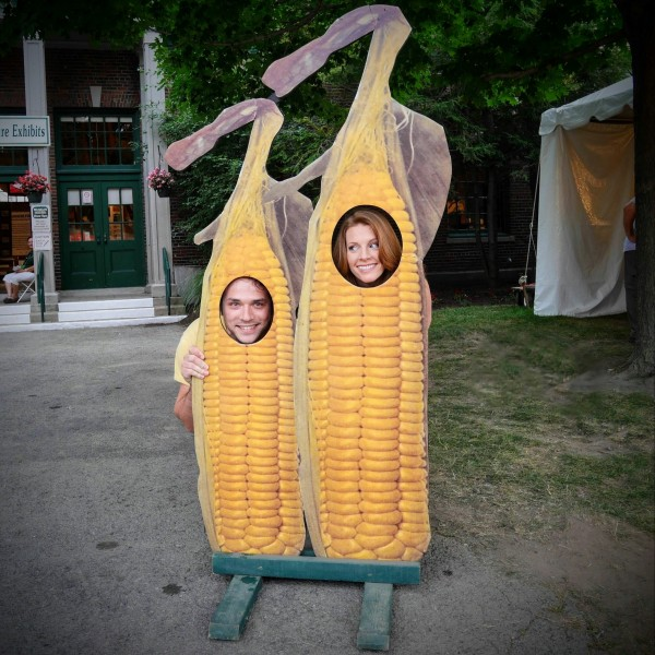 We try to go to as many state and county fairs as we can every summer. There are amazing and hilarious things to be seen!