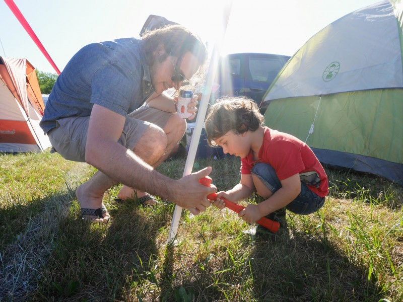 We love making music festivals a family event!