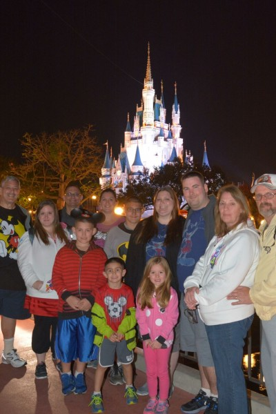 Family vacation at Disney
