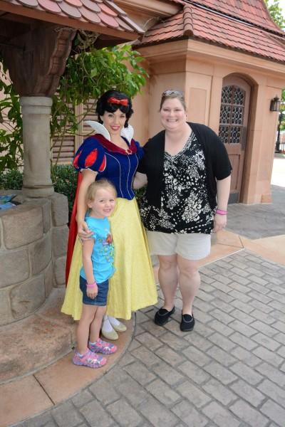 Aunt Laura and Rebecca at Disney