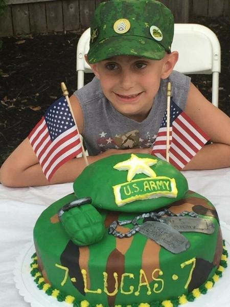 Military Cake