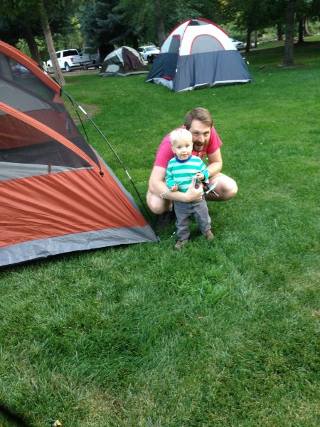 The yearly camping trip