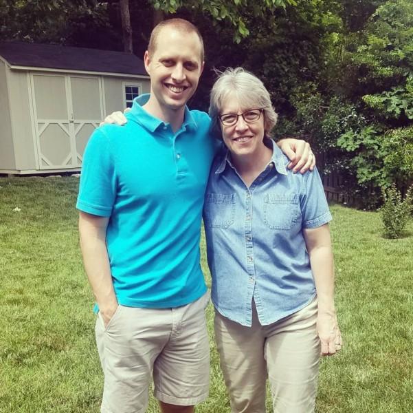 Dan and his mom