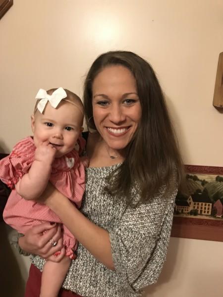 Libby with niece, Catherine