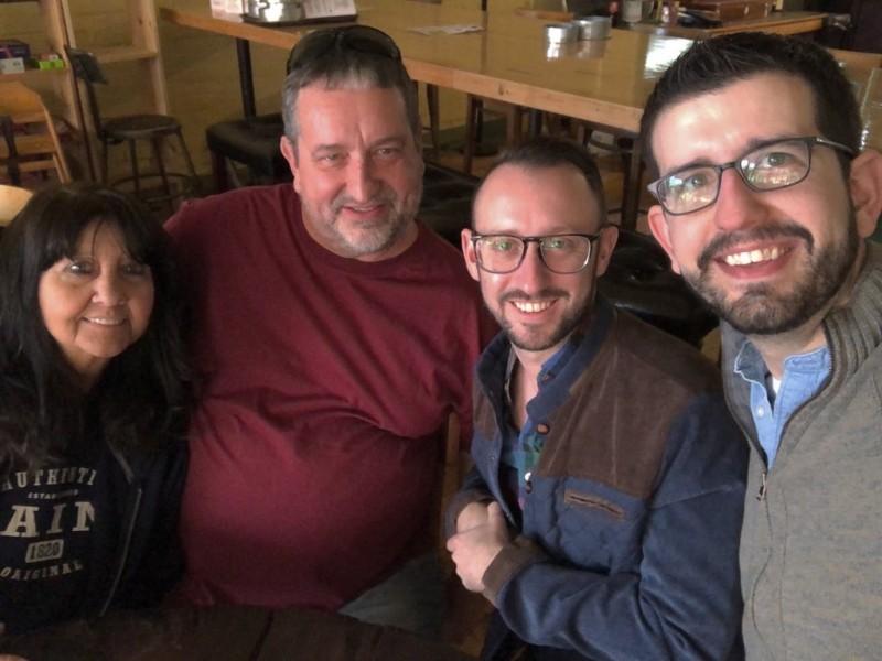 With Phillip's parents in Ohio