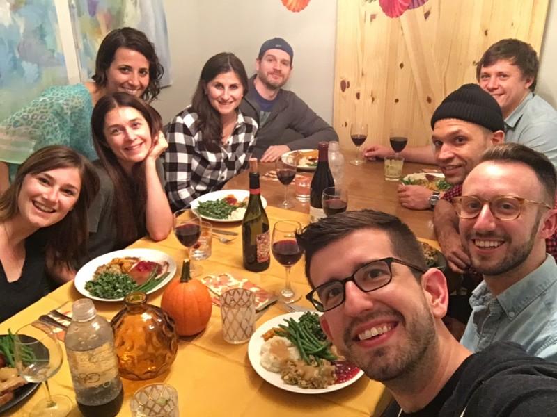 Celebrating Candian Thanksgiving in Toronto