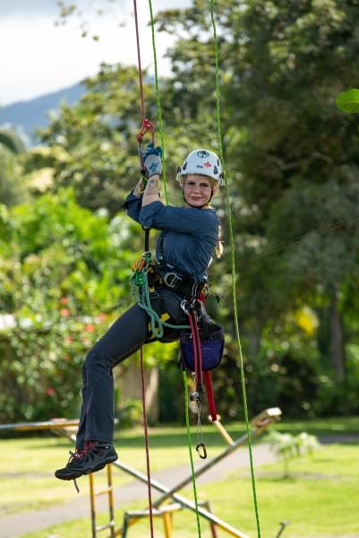 climbing practice!