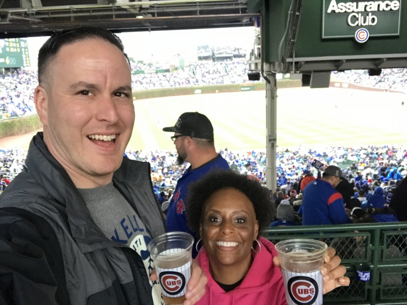 We finally got to visit Wrigley Field in Chicago.