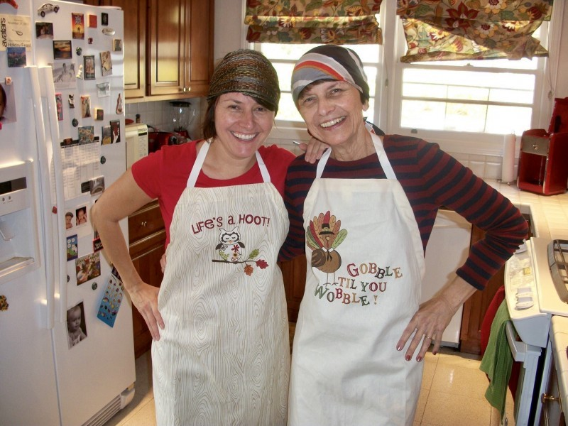 Cooking Thanksgiving with Mom!