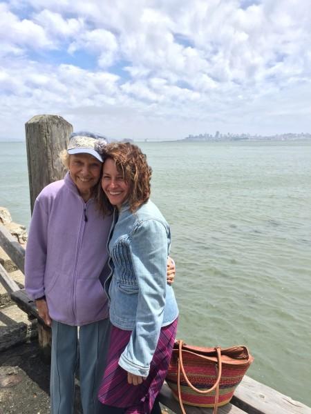 Enjoying San Francisco with my Aunt Jen!