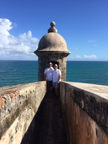 We love to visit family and take in the beautiful sights of Puerto Rico.