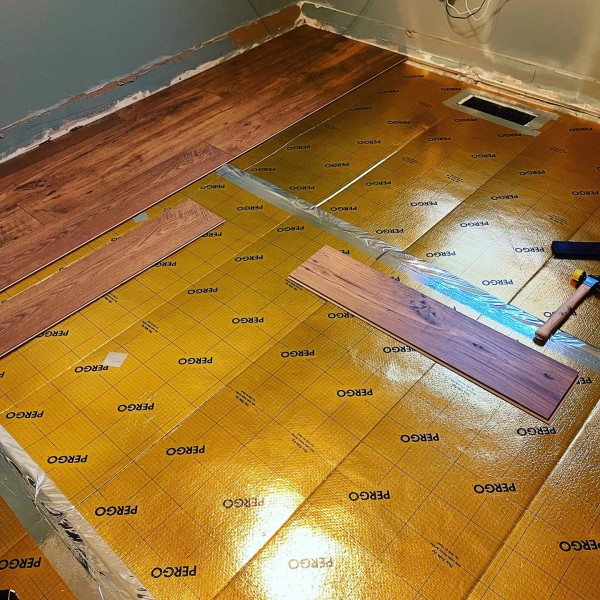 New floor for the nursery