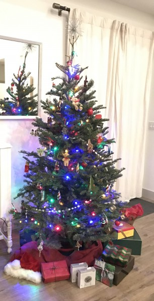 Andy and Kirsten's Christmas tree (2019)