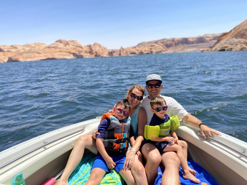 Lake Powell is our favorite family vacation!