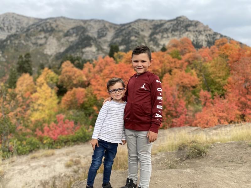 Fall in Utah couldn't be more beautiful.