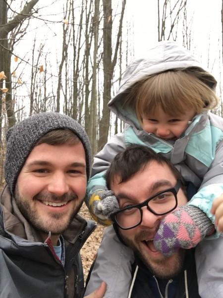 Emery on a hike