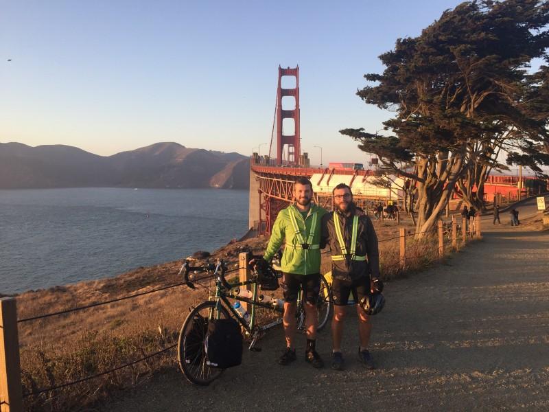 Tandem bike trip