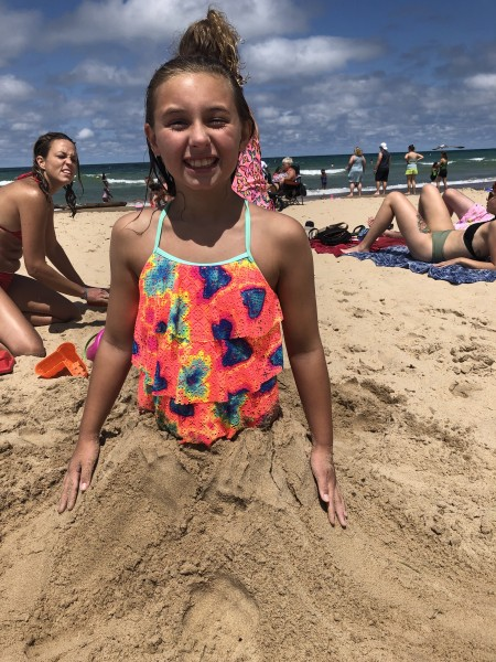 Emma in the Sand