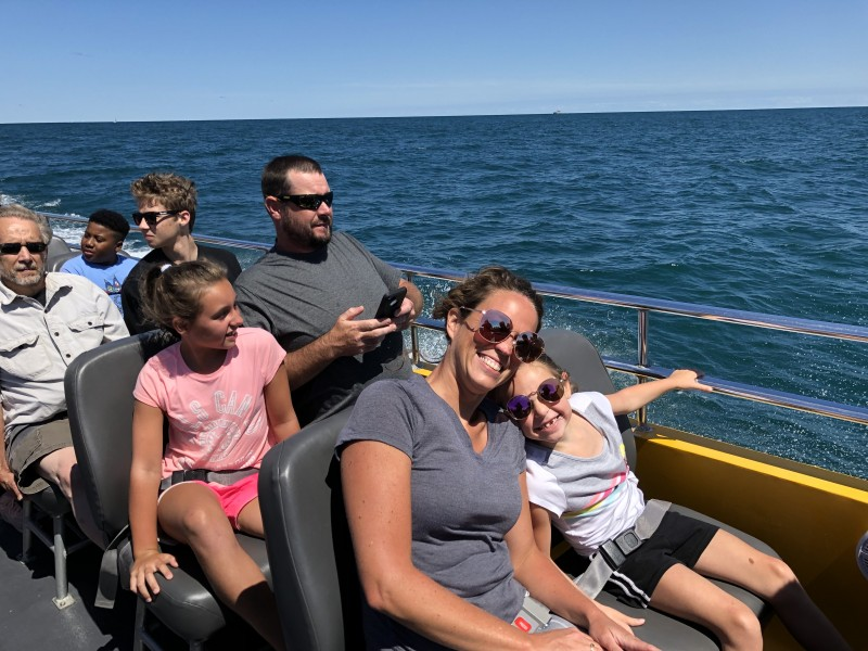 Family Boatride in Chicago