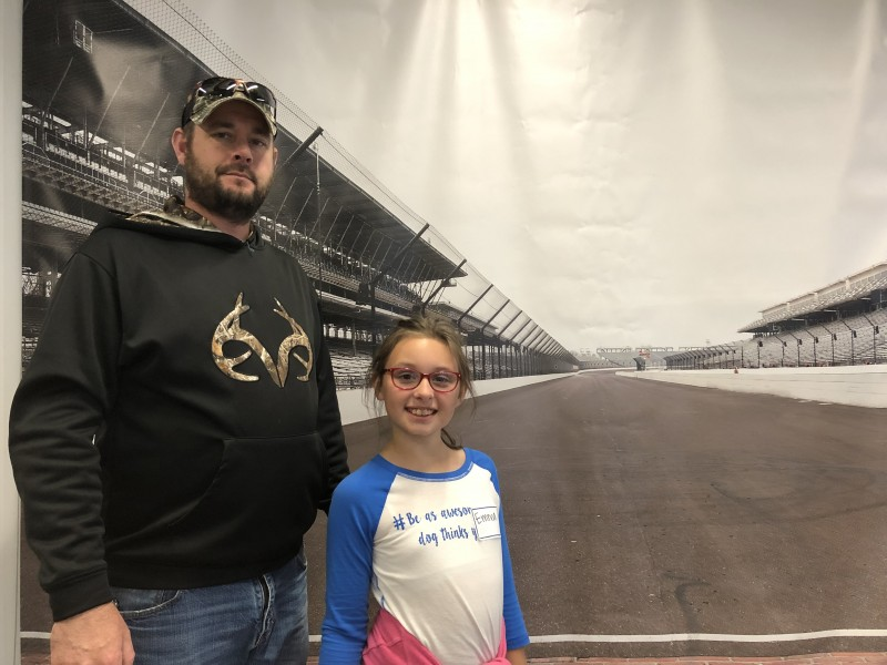 Father/Daughter trip to Indy Motor Speedway