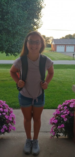Emma - First Day of 6th Grade