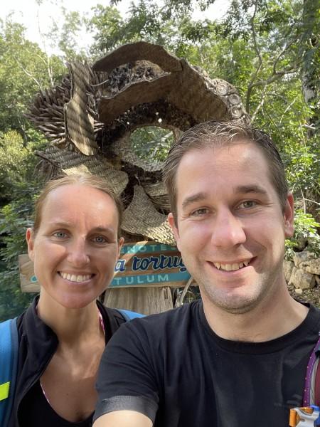 At a cenote