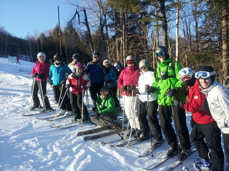 Ski trip with friends
