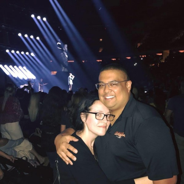 The night Mark proposed at a Sam Smith concert