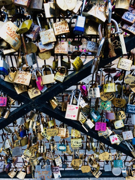 Added our lock, in Paris