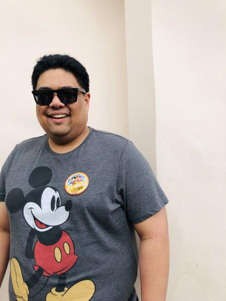 Mark's first visit to Disneyland