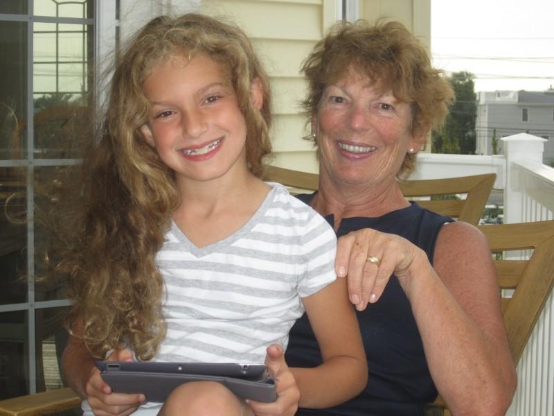 Grandma Jean and Emma