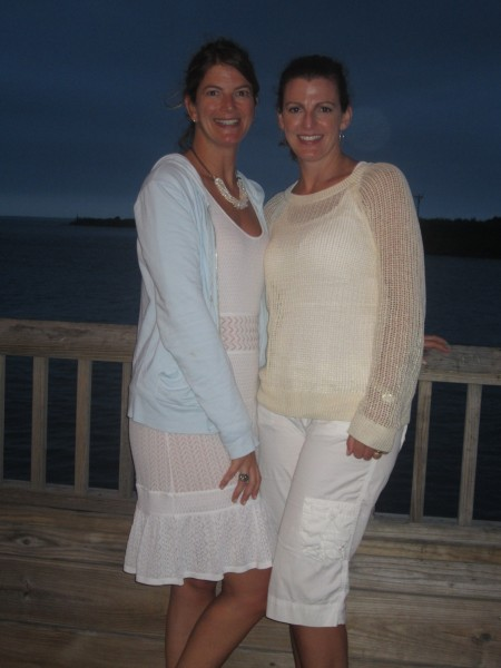 Lyn and her sister, Debbie