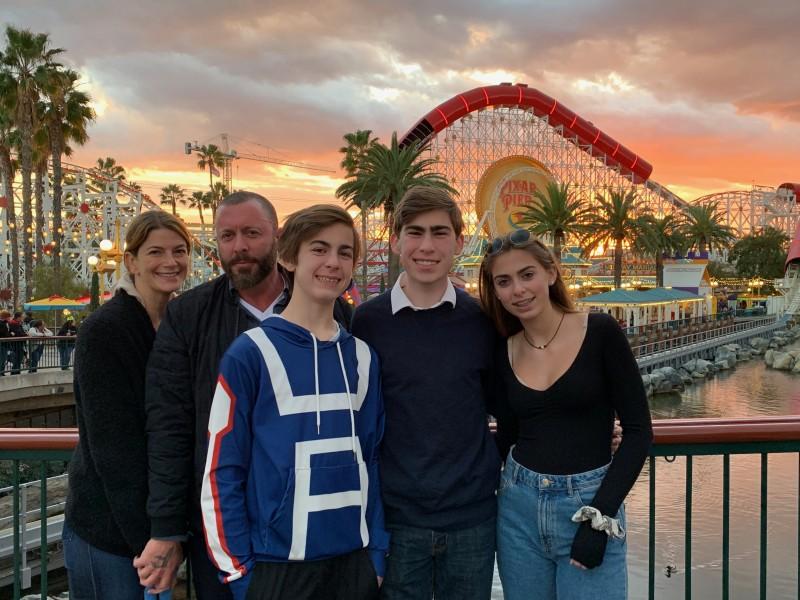 New Years Eve at Disneyland
