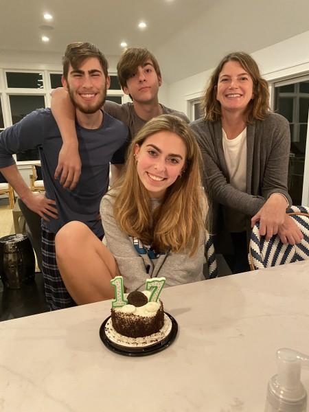 Olivia's 17th birthday