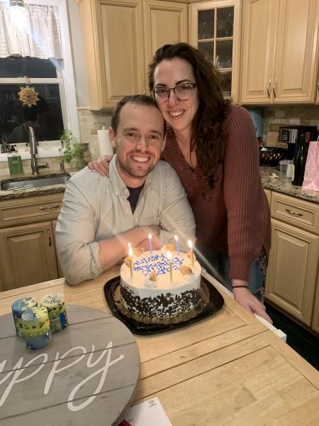 Celebrating Kevin's birthday