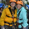 We went ziplining at a spot about an hour from our house for Kate's birthday. So fun!