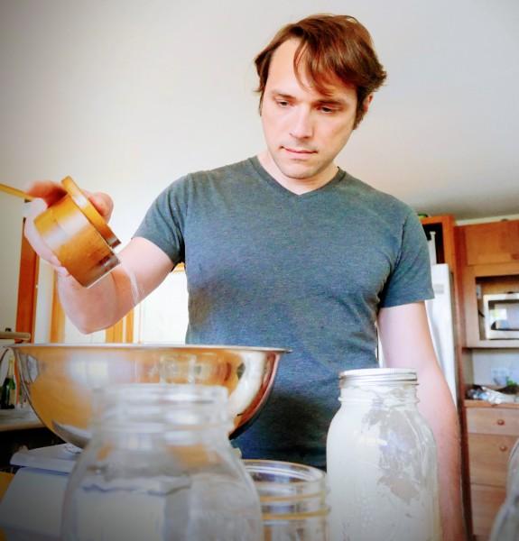 Rick bakes us fresh bread every week.