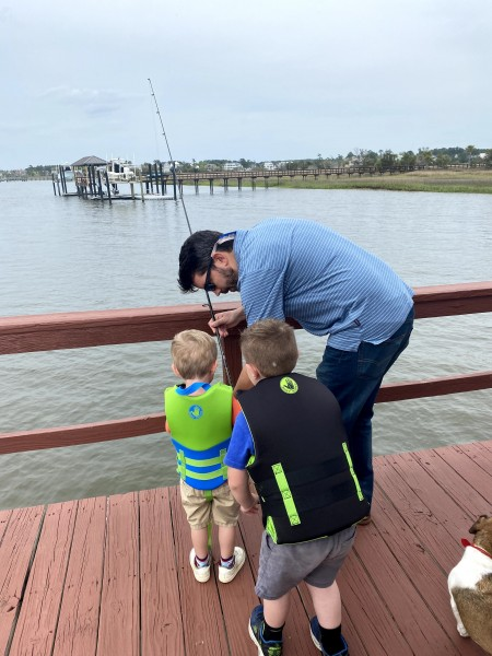 Fishing with our nephews
