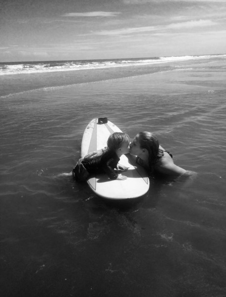 Surfing with jb