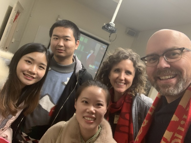 Missing these students! Looking forward to a return to normalcy, and when the international students that I work with can return to the States!