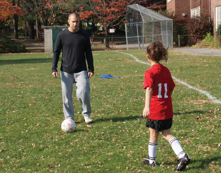 Scott one on one soccer coaching