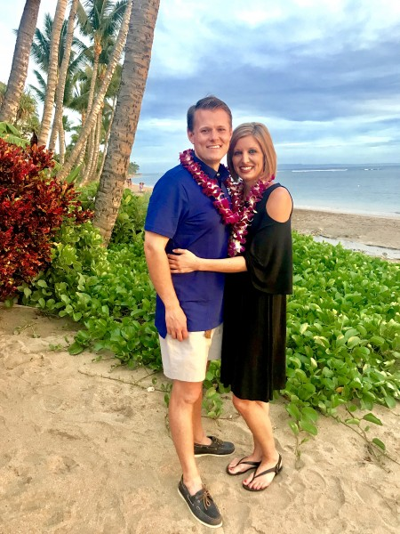 Our very first trip together in Hawaii.