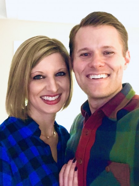 Staying warm in our flannels...we welcome the cooler weather!