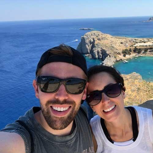 Greece selfie