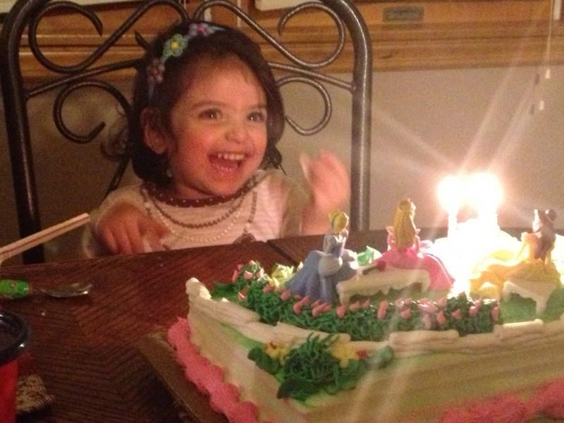 Birthday celebration for my niece