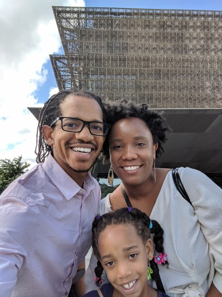 Black heritage matters. Here we are at the Black history museum in Washington DC (The Smithsonian)