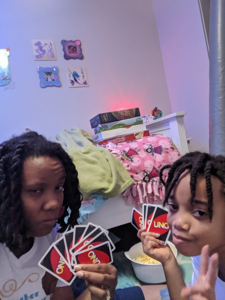 Danielle and Josephine are competitive at card games.